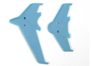 EK1-0442L Vertical & horizontal tail blade setʋlue)