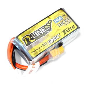 Tattu R-Line 1300mAh 100C 4S1P 15.2V High Voltage Lipo V2.0