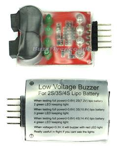 Low Voltage Buzz Alarm