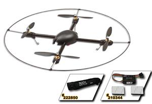 Gaui 500X-S Quad Flyer Combo Kit