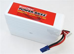 PowerBuzz 12300mAh 22.2v Lipo