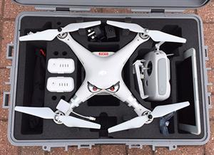 Phantom 3 Wheel Case