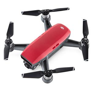 DJI Spark - Lava Red - Fly More Combo